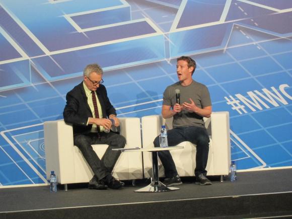 Zuckerberg (Facebook) regresa al Mobile World Congress de Barcelona