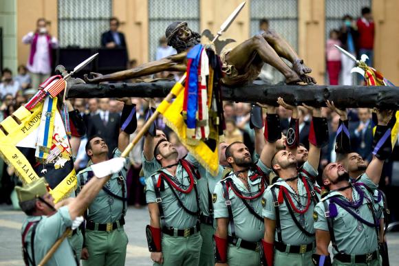 """El famoso himno de la Legión Española, """"El novio de la muerte"""", nació en los años 20 como un cuplé"""