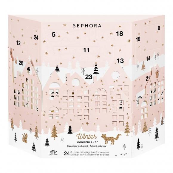 Calendario De Adviento Maquillaje.Calendarios De Adviento Beuty Espera Navidad Rodeada De Belleza