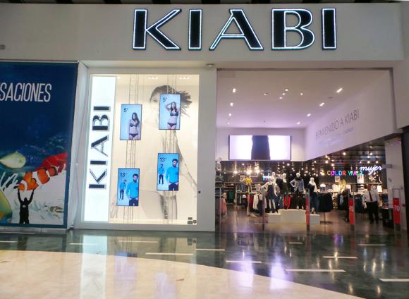 Imagen del exterior de una tienda de Kiabi.
