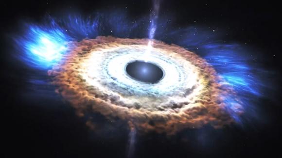 NOTICIAS CIENCIA - Descubren cómo es el agujero negro que crece más ...