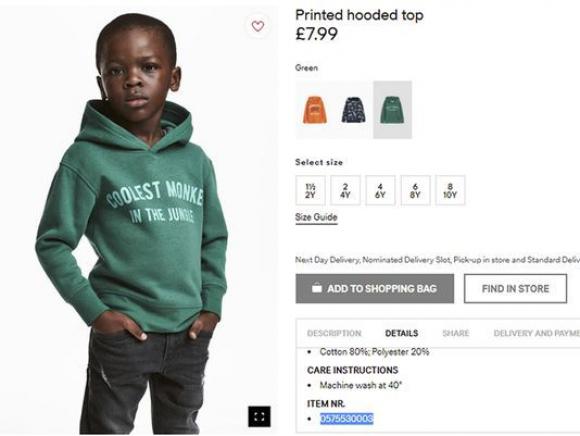 H M cierra sus tiendas en Sudáfrica tras ser tachada de racista por ... 0437f68787064