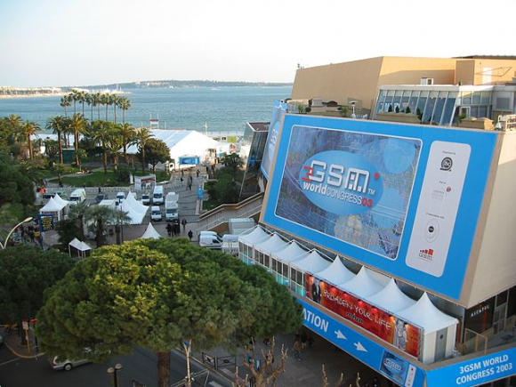 Cannes, sede el 3GSM World Congress en 2005