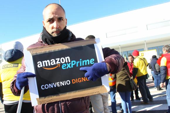 Huelga Amazon España