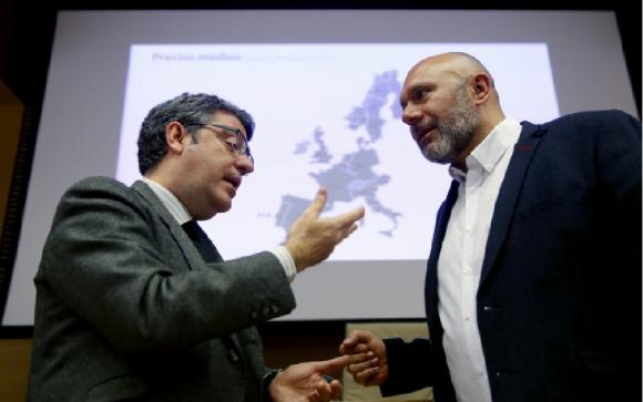 El ministro de Energía, Álvaro Nadal en el Congreso. /EFE