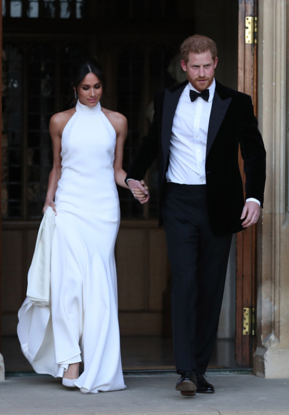 Vestido zara boda meghan