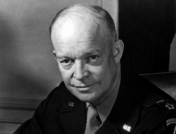 Eisenhower, en su época de general.