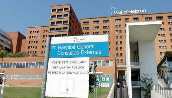 Hospital Valld'Hebron de Barcelona.