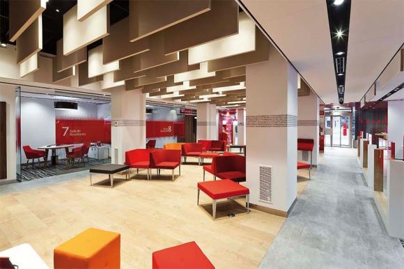 Banco santander abre 500 oficinas por la tarde desde este lunes solo con cita previa banca - Oficinas banco santander zaragoza ...
