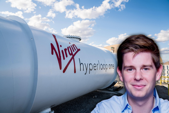 Ryan Kelly, director de Marketing de Virgin Hyperloop One.
