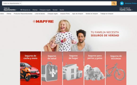 Mapfre se al a con amazon para vender seguros dentro del for Oficinas mapfre en valencia