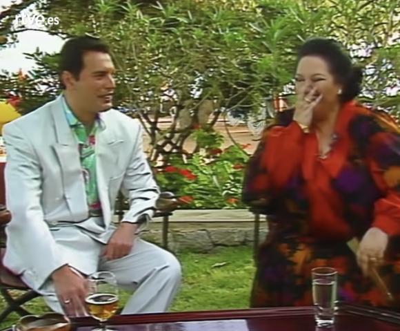 Freddie Mercury El Video Inedito De Montserrat Caballe Y Freddie