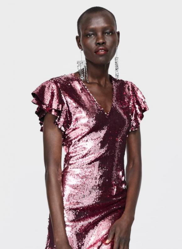26975088b El vestido de lentejuelas rosa de Zara que enloquece a las concursantes de  GH VIP