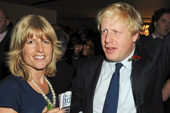 Rachel y Boris Johnson.