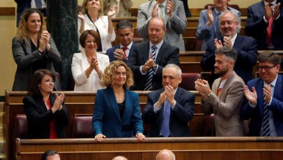 La presidenta del Congreso de los Diputados, Meritxell Batet. / EFE
