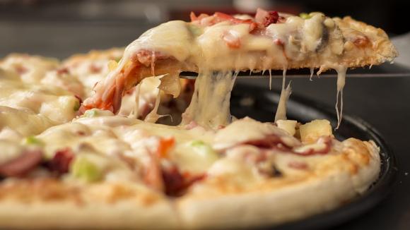 Receta de pizza jamon y queso en ingles