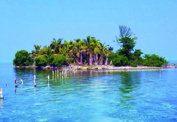 Hat Caye, en Belice