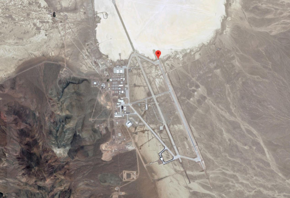 Area 51 Google Maps