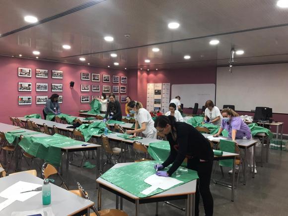 Carencia de equipos en hospitales de Madrid