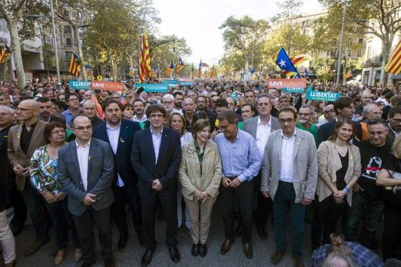 Manifestación de Barcelona