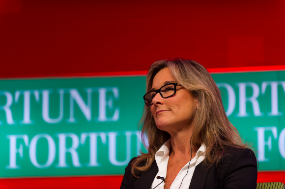 Angela Ahrendts, vicepresidenta de Apple y exCEO de Burberry / Fortune Global Forum 2013