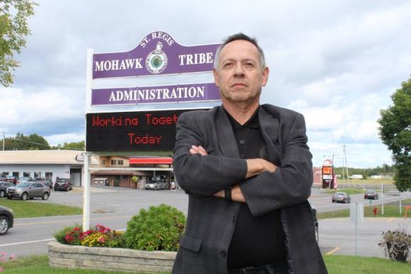 El consejero general de la reserva / St. Regis Mohawk Reservation