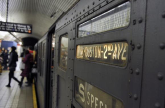 Fotografía del tren secreto de Nueva York.