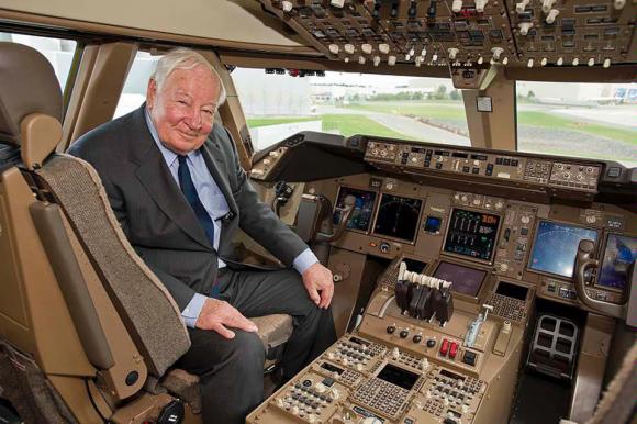 Joe Sutter, el padre del 747 / Boeing