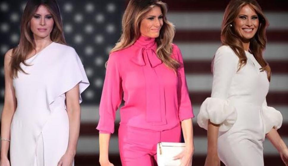 Melania Trump ya tiene quién le vista pero....¿quién lo hará el día ...
