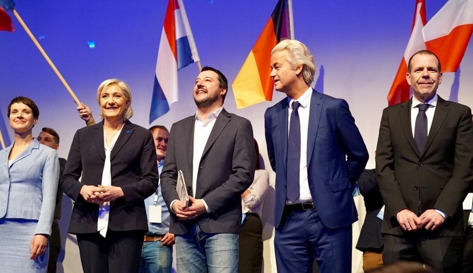 La extrema derecha europea reivindica el renacimiento de las ...