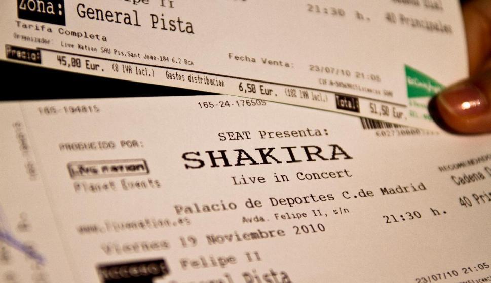 Resultado de imagen para entradas de concierto