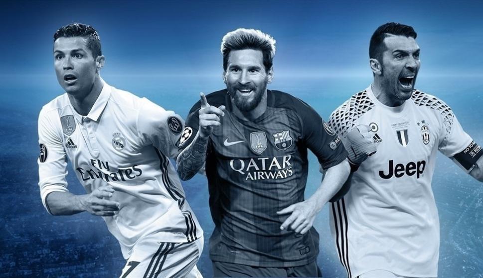UEFA công bố danh sách rút gọn 50 cầu thủ cho Đội hình tiêu biểu của năm 2017 - ảnh 1