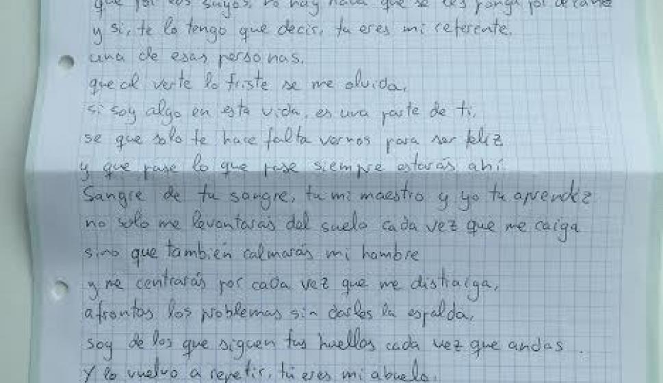 La Carta De Un Nieto A Su Abuelo Enfermo Conmociona Las Redes