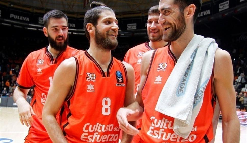 Crónica) Valencia Basket, único equipo español que golpea primero en ...