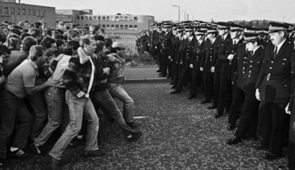 Imagini pentru 1984 huelgas mineras gales