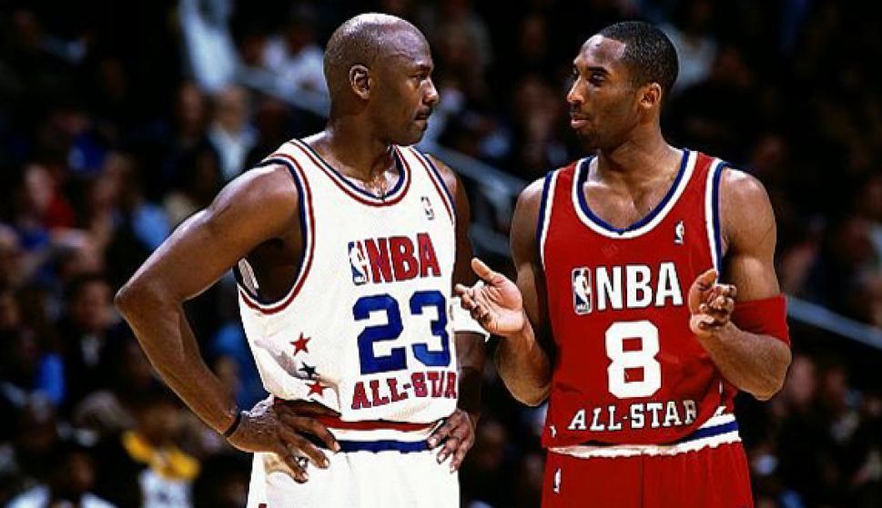 big sale 49dbe 33078 Kobe Bryant y Michael Jordan  La historia de una obsesión