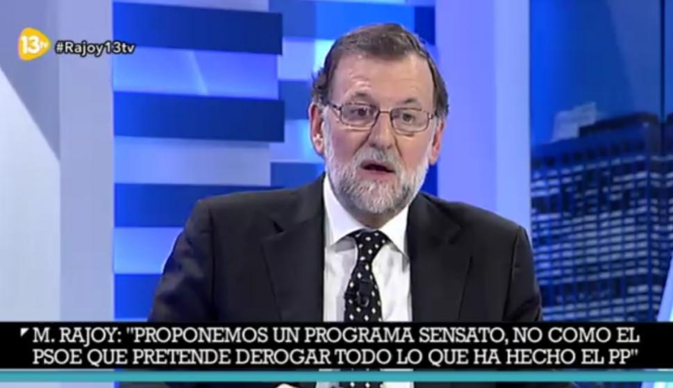 Las Mejores Frases De Rajoy En 13tv Nunca Vamos A