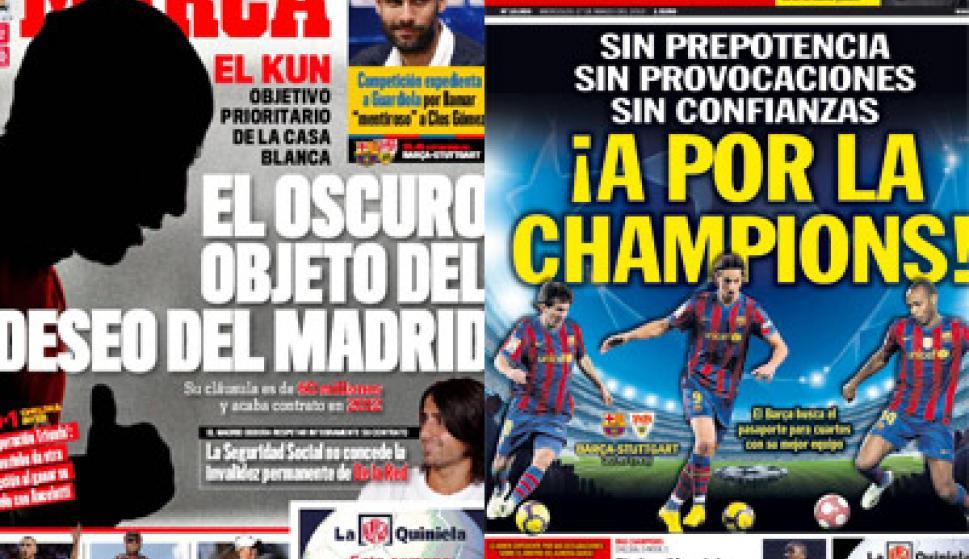 El Kun Agüero, al Madrid y el Barça, a cuartos de la ...