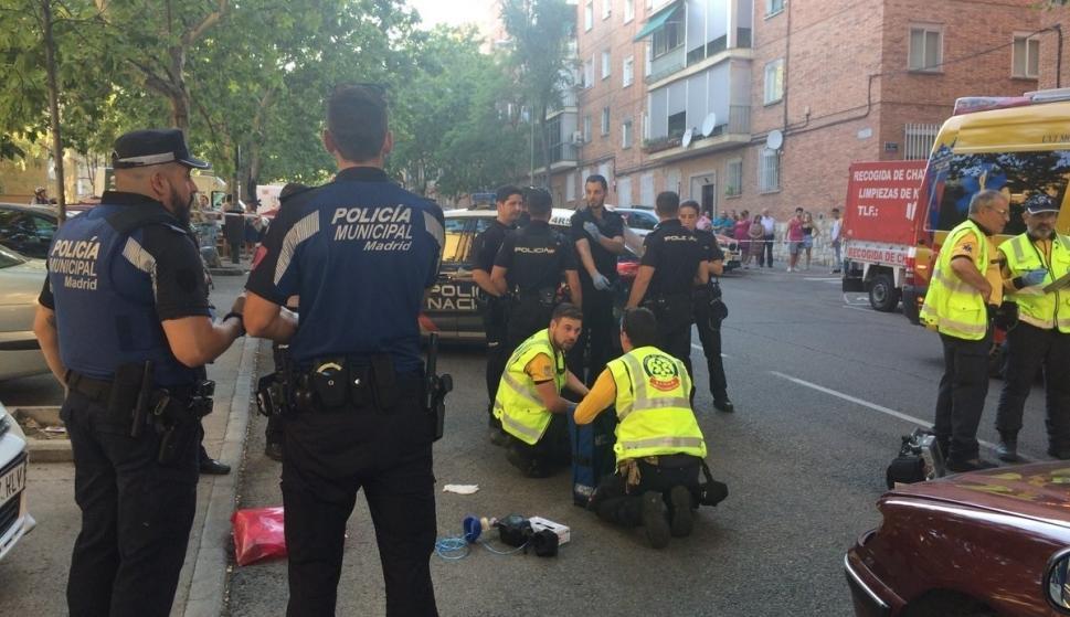 b22909e3e Muere una mujer de 57 años al ser atropellada por un coche en San Blas