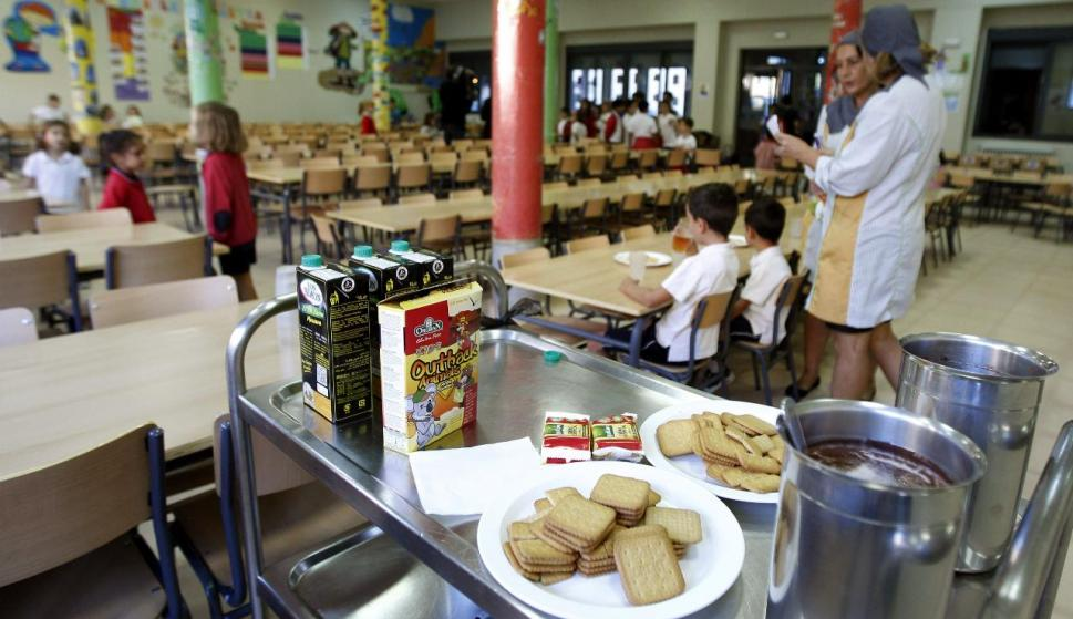 La apertura de comedores escolares para niños vulnerables genera ...