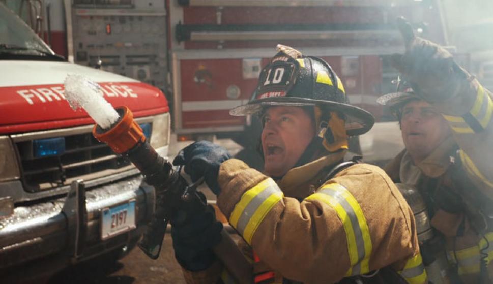 Una cámara graba la intervención de unos bomberos a mil fotogramas ...