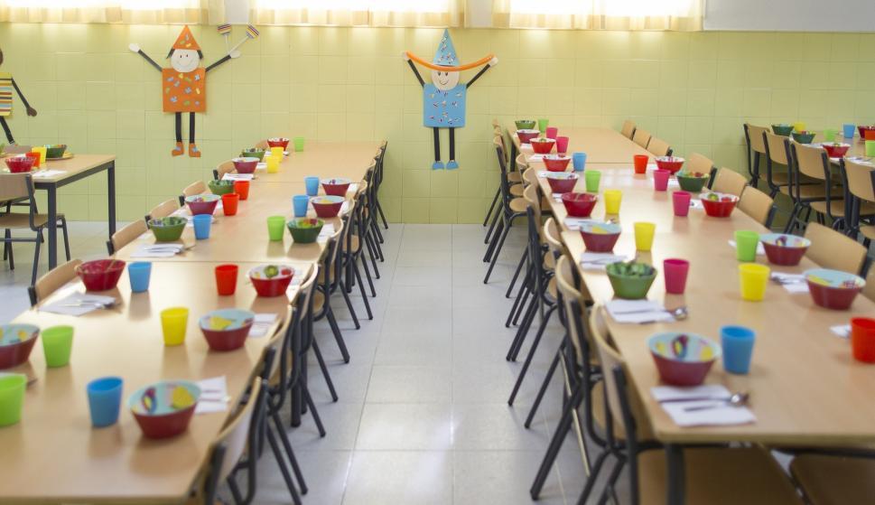 Valencia aumenta en más de 10 millones las becas de comedor escolar ...