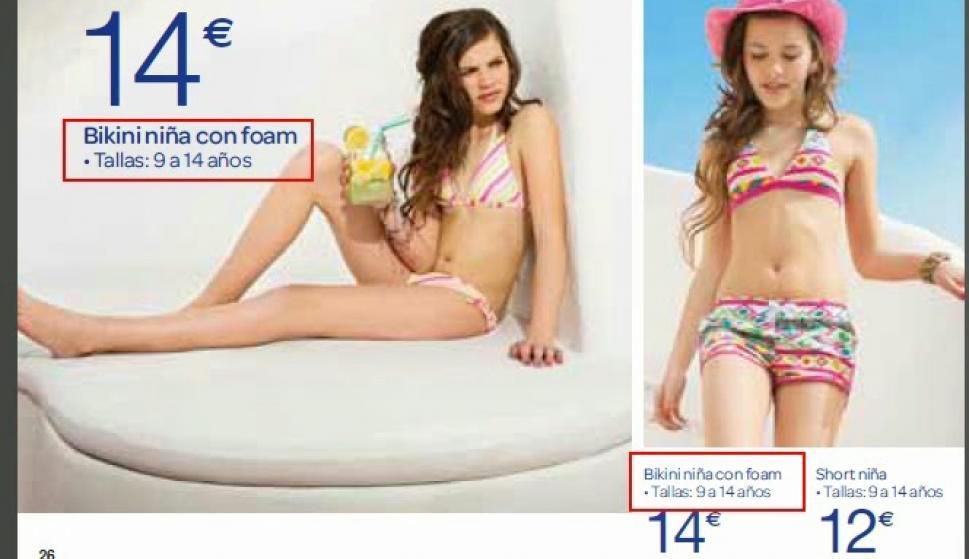 Denuncia Bikini Carrefour Un Con A Facua Publicitar Relleno Para Por 8n0PkOXw