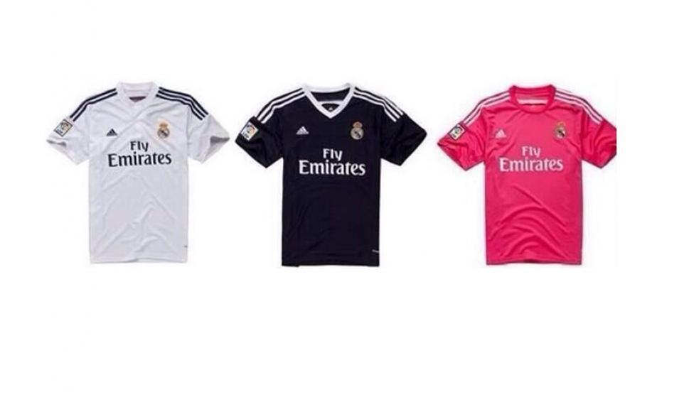 La tercera camiseta del Real Madrid para la 2014 15 será de color ... f9d6a68378546