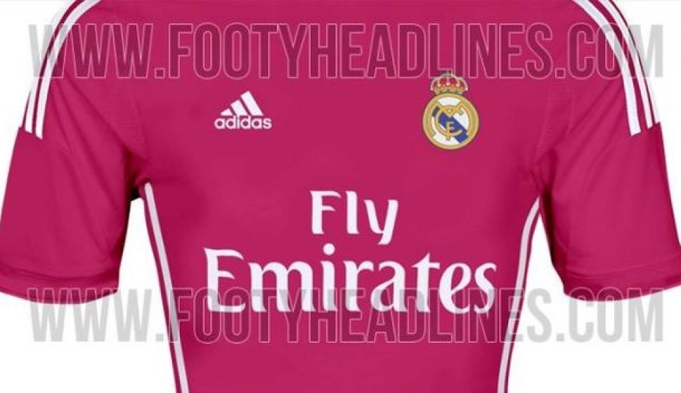 La segunda camiseta del Real Madrid en la temporada 2014 15 será ... b641a495eef12