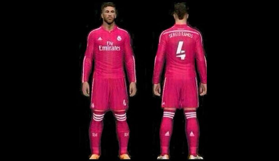 abe28a1b0462b Así lucirá Ramos la tercera equipación del Real Madrid