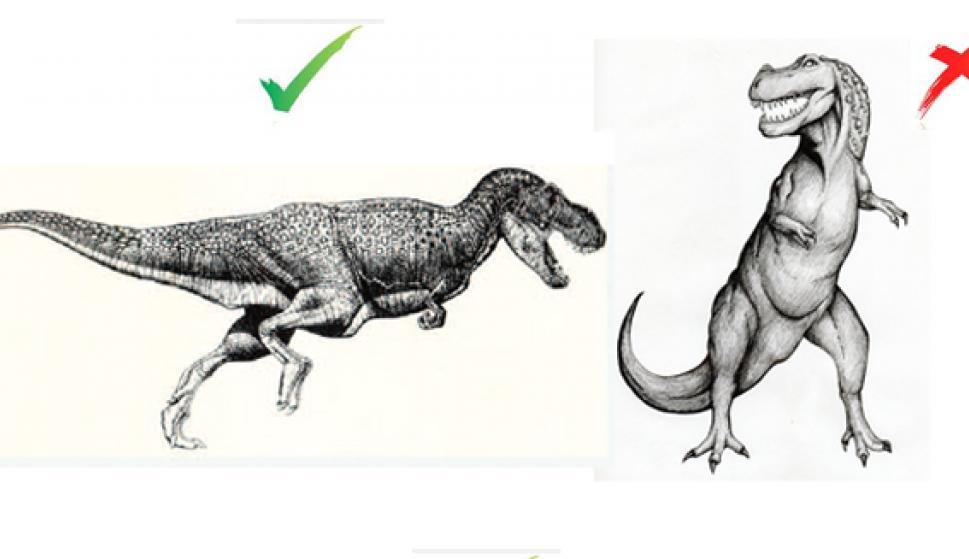 ¿Seguro Que Sabes Dibujar Un Tiranosaurio Rex