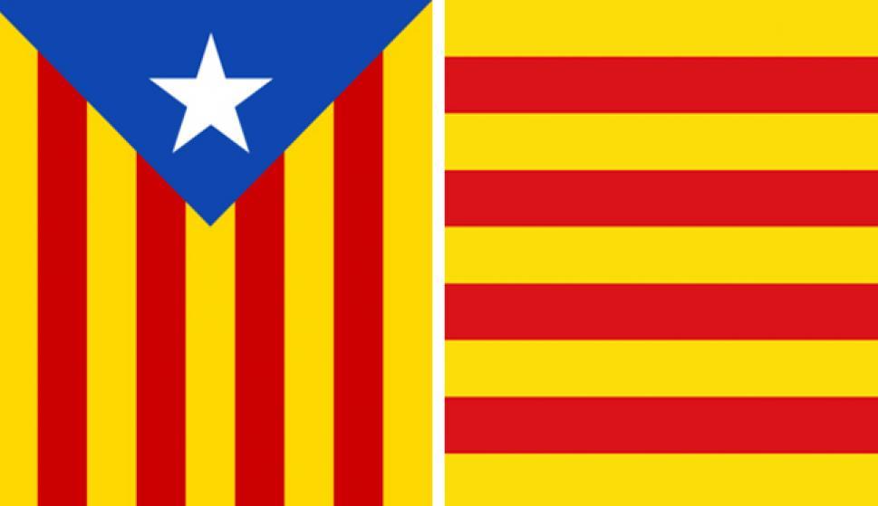 6a49b8312fc89 Cuál es la diferencia entre la senyera y la estelada - España ...