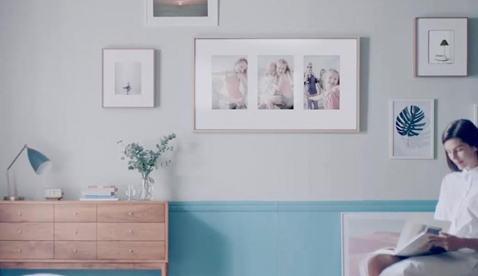 The Frame, la nueva TV de 43 pulgadas de Samsung. ¿Una televisión o ...