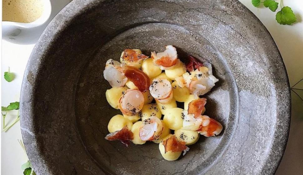 Gnochi de patata que puedes degustar en Pur-Impur.